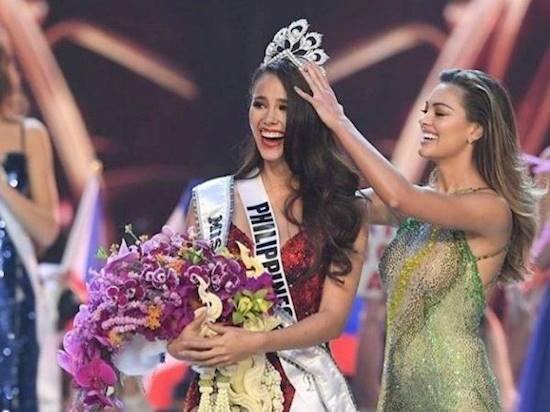 Catriona Gray from Philippines gets crowned as the Miss Universe 2018