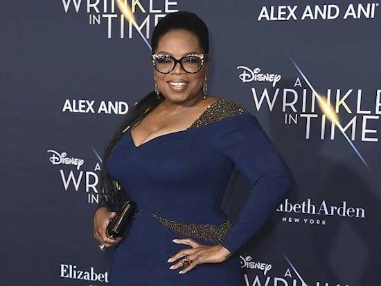 Oprah Winfrey throws a bash to celebrate Black Panther's Golden Globe nominations