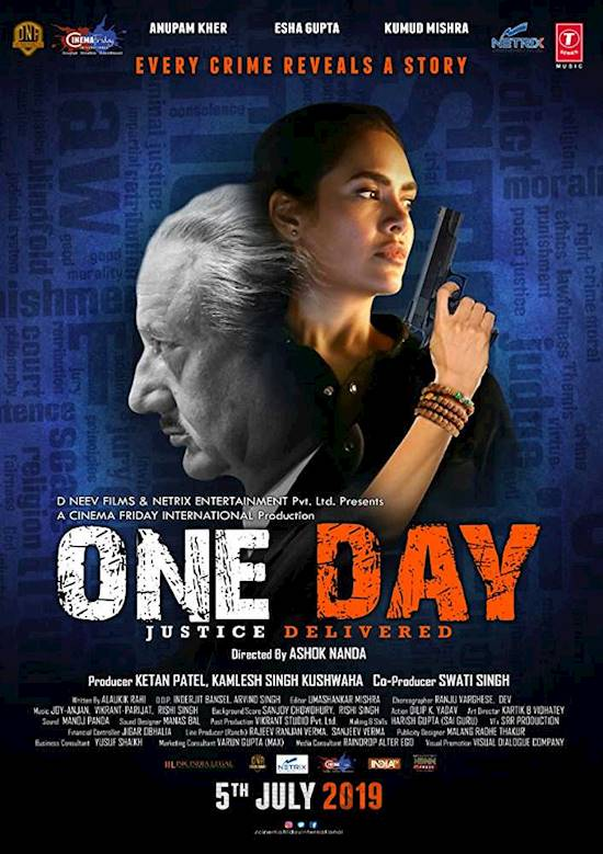 Poster of movie: ONE DAY: JUSTICE DELIVERED