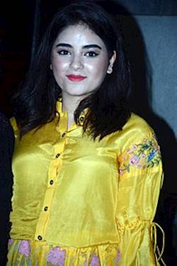 Photo of Zaira Wasim