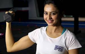 Rakul Preet Sing Fitness Photos