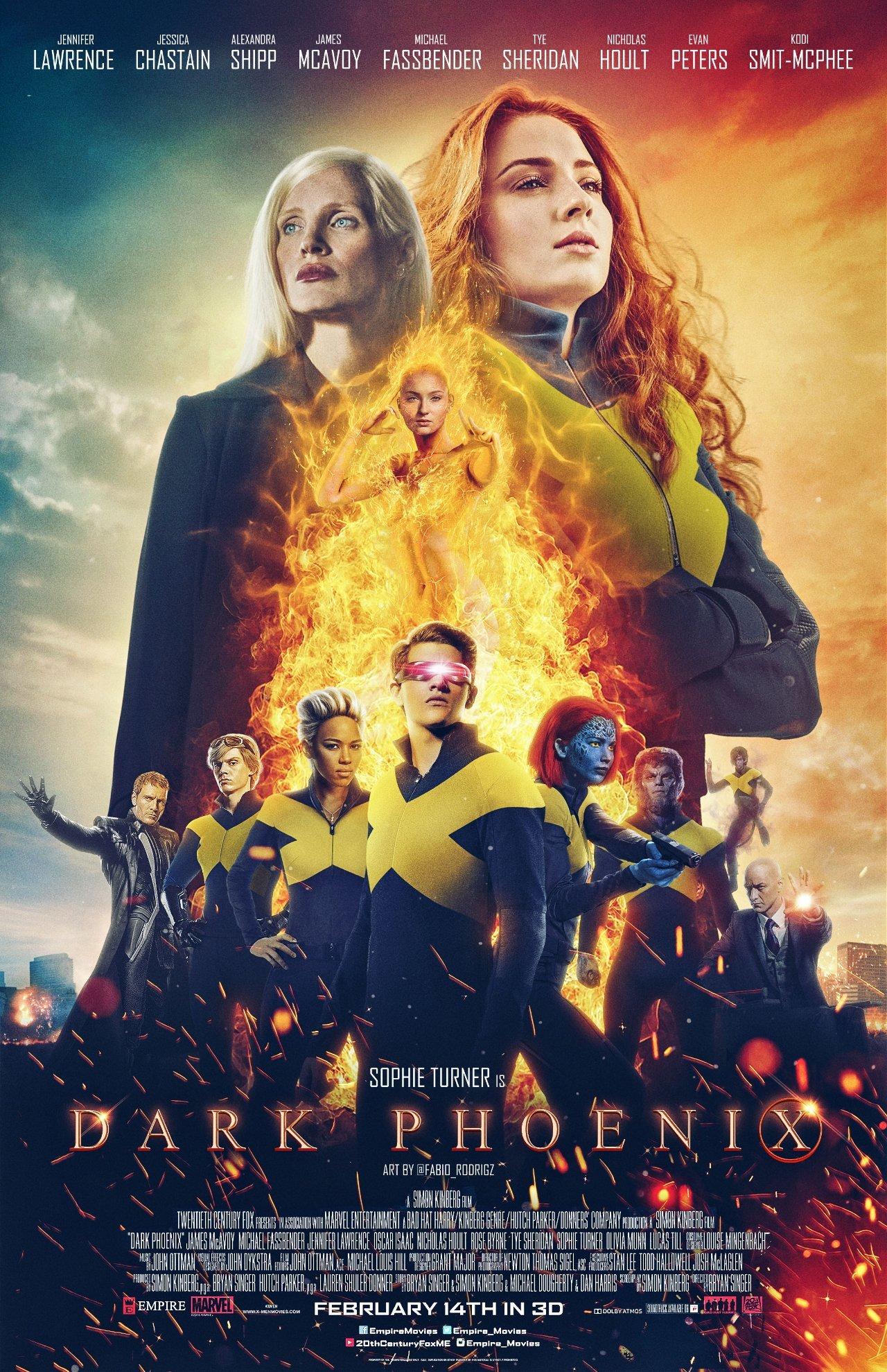 Poster of X-Men: Dark Phoenix