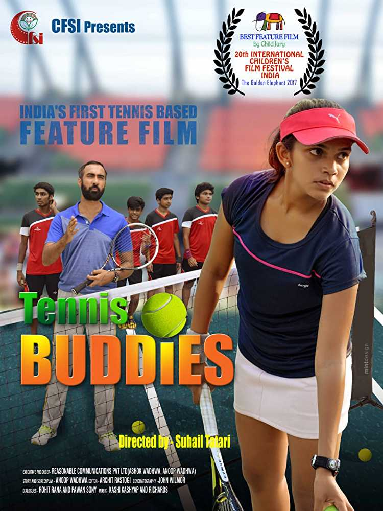 Poster of Tennis Buddies