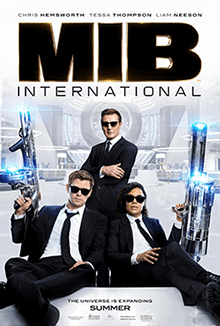 Poster of Men in Black: International