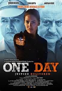 Poster of ONE DAY: JUSTICE DELIVERED