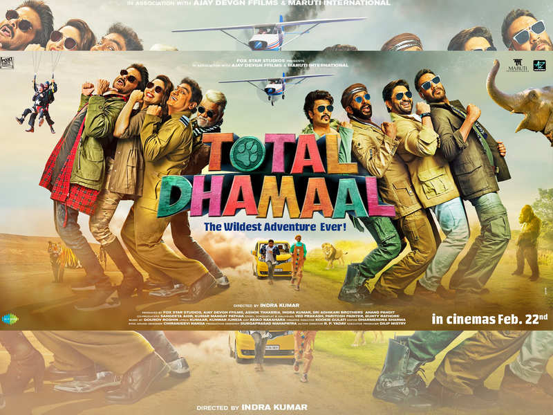 Poster of Total Dhamaal
