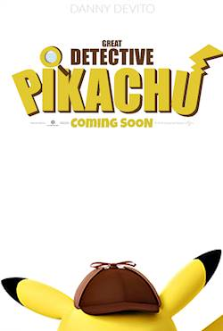 Poster of Detective Pikachu