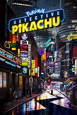 Poster of Pokemon Detective Pikachu